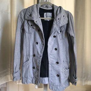 Hurley peacoat jacket